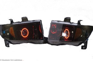 06-14 Honda Ridgeline Retrofit Headlights